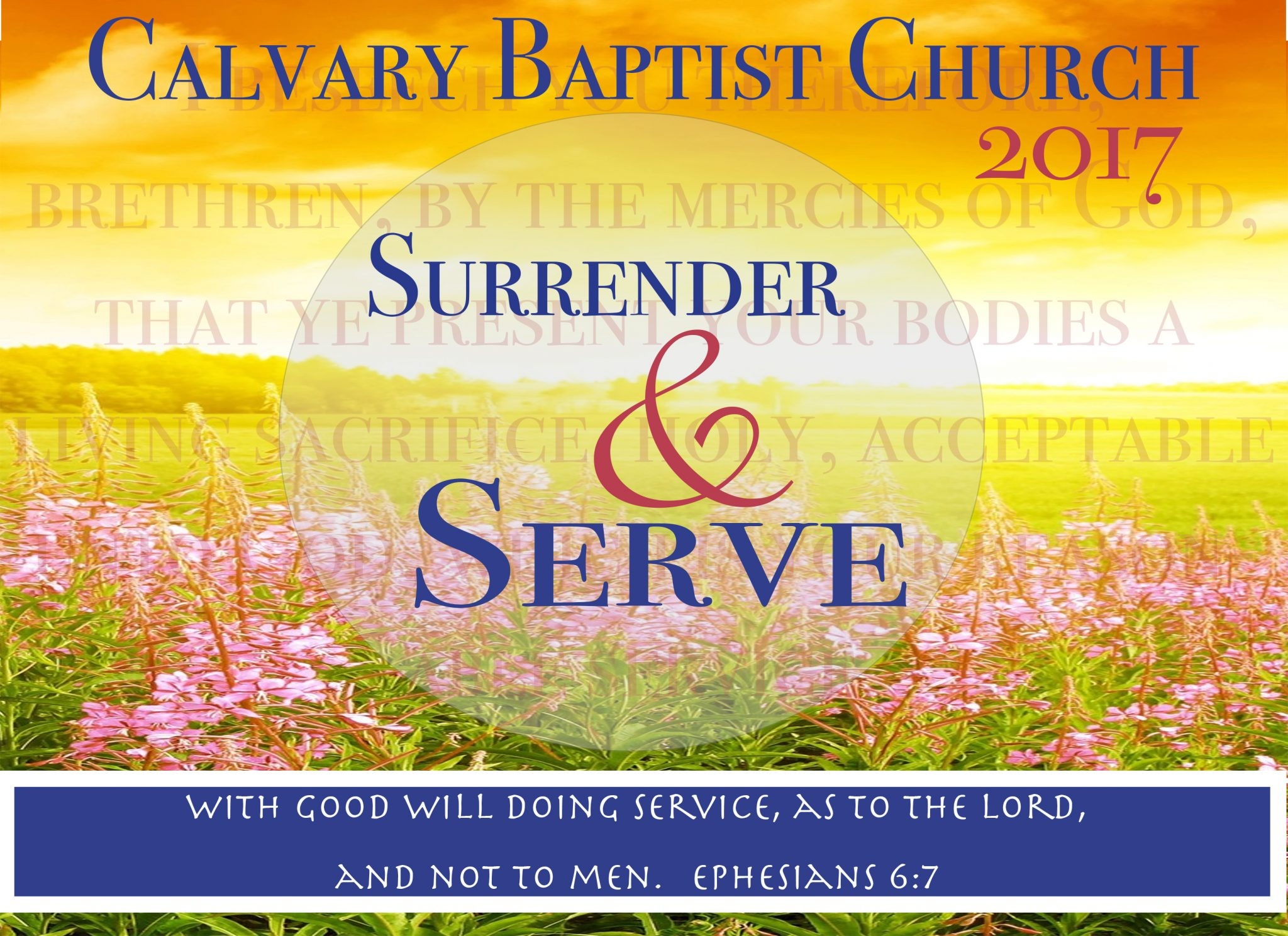 Surrender and Serve Slide