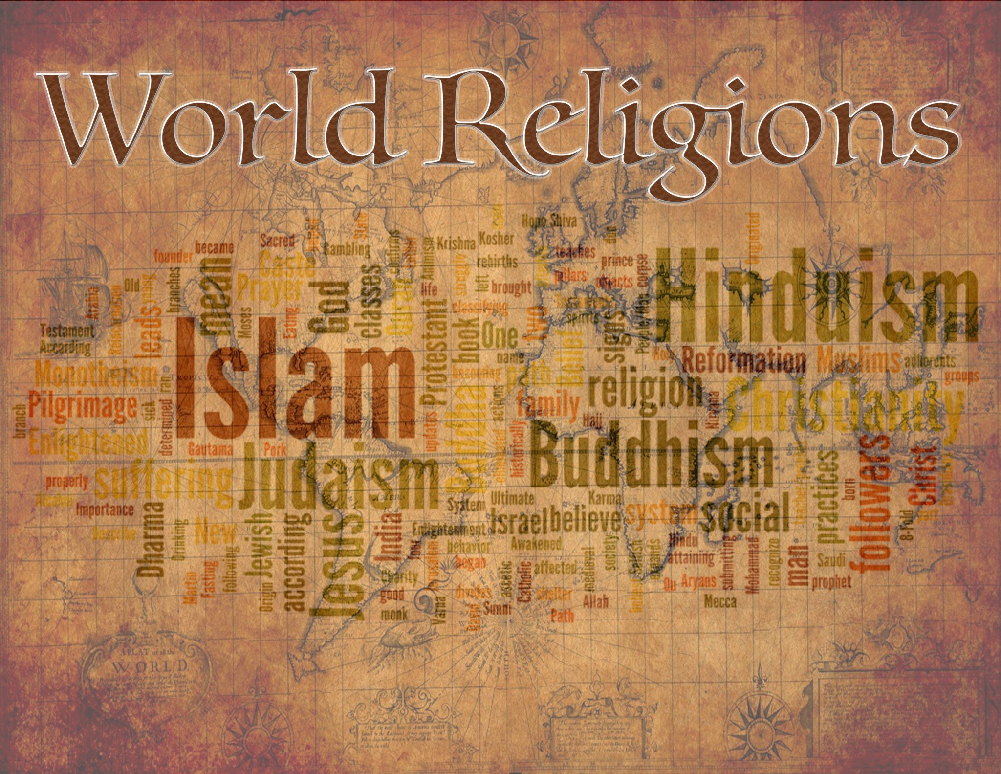 World Religions Slide